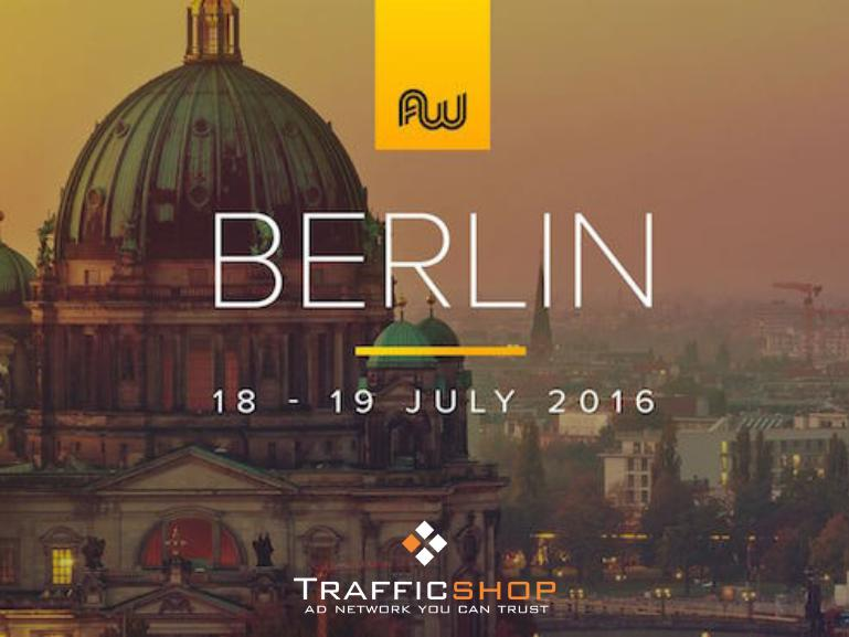 Meet Trafficshop at AWE in Berlin