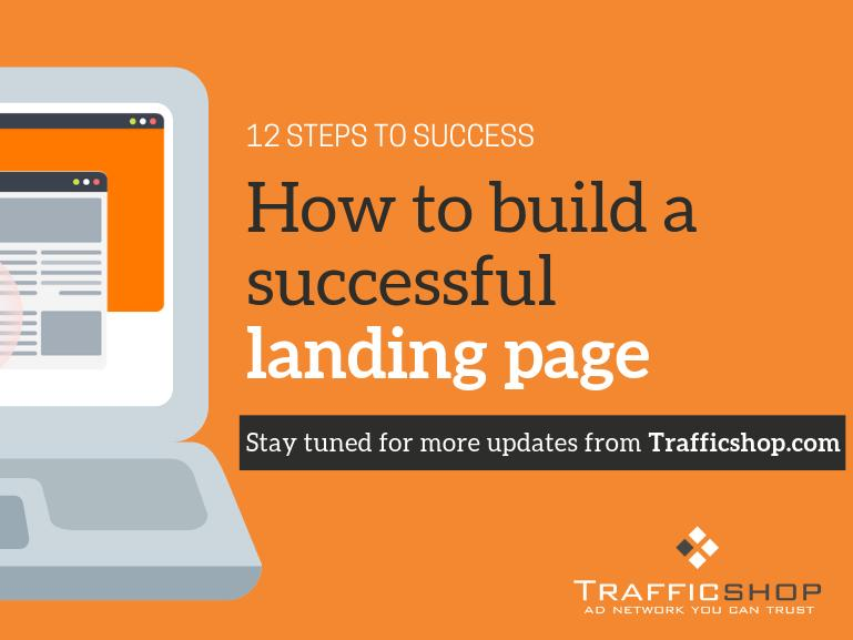 TrafficShop | Landing page guide